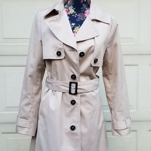 Women's H&M Pleated Trench Coat